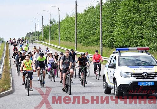На Шепетівщині відбулася масова велогонка за підтримки правоохоронців