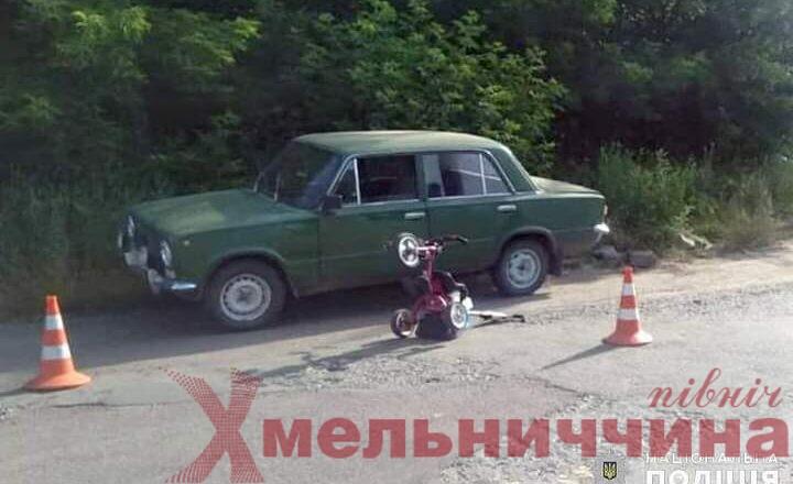 У Славуті водій збив пішоходів на узбіччі