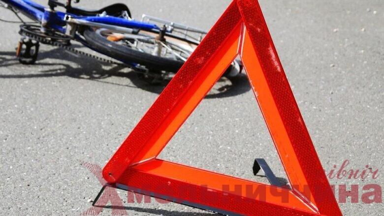 У Шепетівці внаслідок ДТП постраждав 75-річний велосипедист