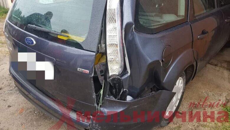 Шепетівські поліцейські встановили особу, що скоїла ДТП і викрала два авто