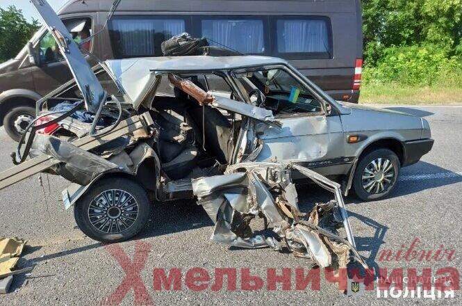 У ДТП на Хмельниччині постраждав 3-річний хлопчик