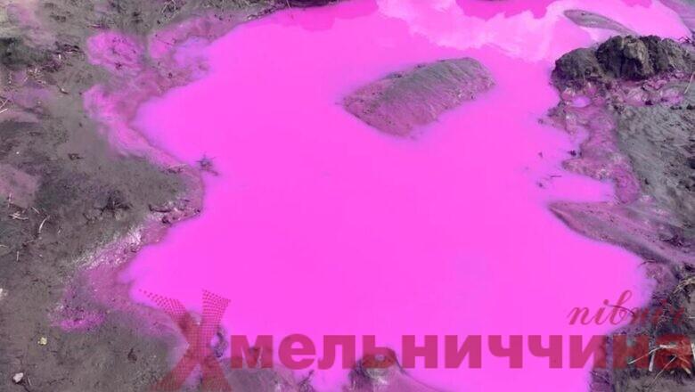 Рожеві калюжі на полях виявили у сусідньому з Шепетівським регіоні: винним загрожує кримінальна відповідальність