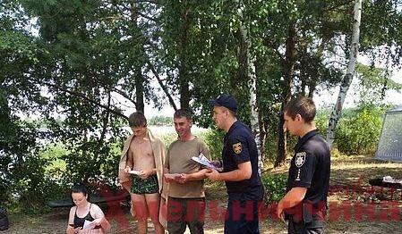 Відпочивати свідомо: лісівники, правоохоронці та рятувальники Ізяславщини патрулюють місцеві ліси