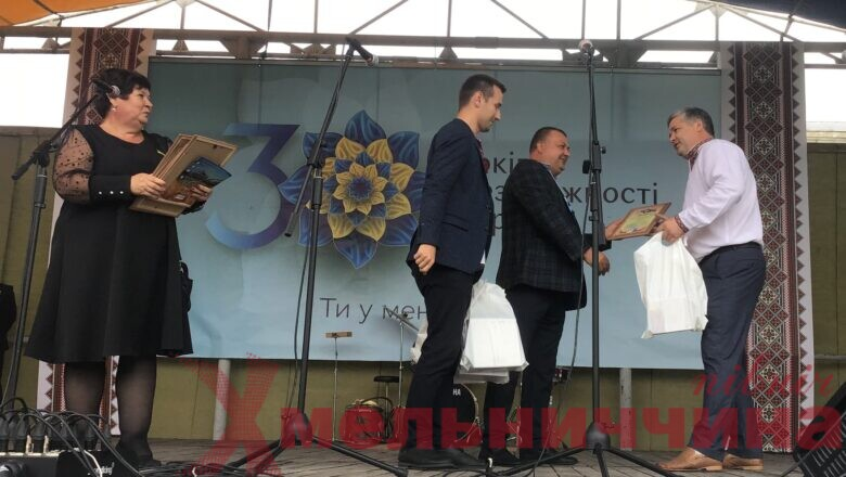 Трьох лісівників Ізяславщини та Білогірщини нагородили до Дня Незалежності