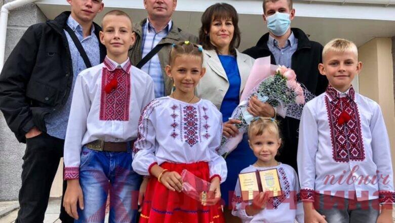 """Валентина Галєнт із Нетішина отримала відзнаку """"Мати-героїня"""""""