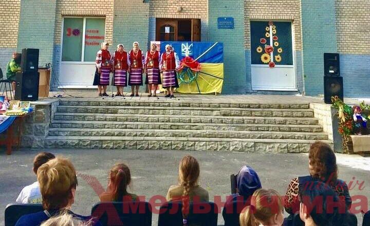 Концерт на сходинках в Михайлюцькій громаді
