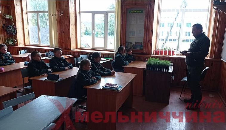 """Школярі Ізяславщини долучились до """"Зеленої країни"""""""