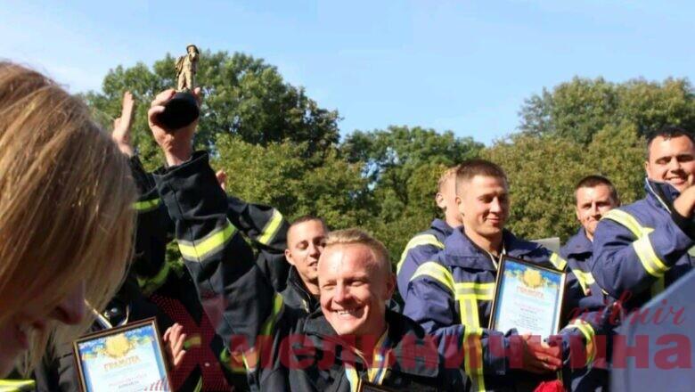 Степан Семенчук з Нетішина став найсильнішим пожежником-рятувальником Хмельниччини