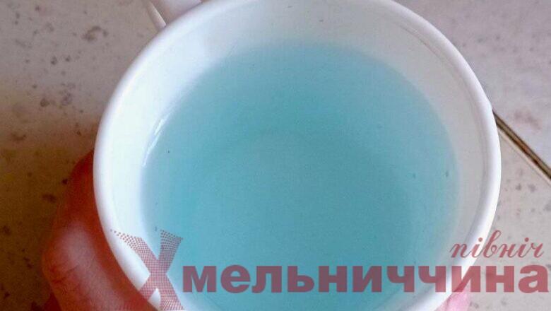 У Шепетівському водоканалі пояснили чому з кранів може текти блакитна вода