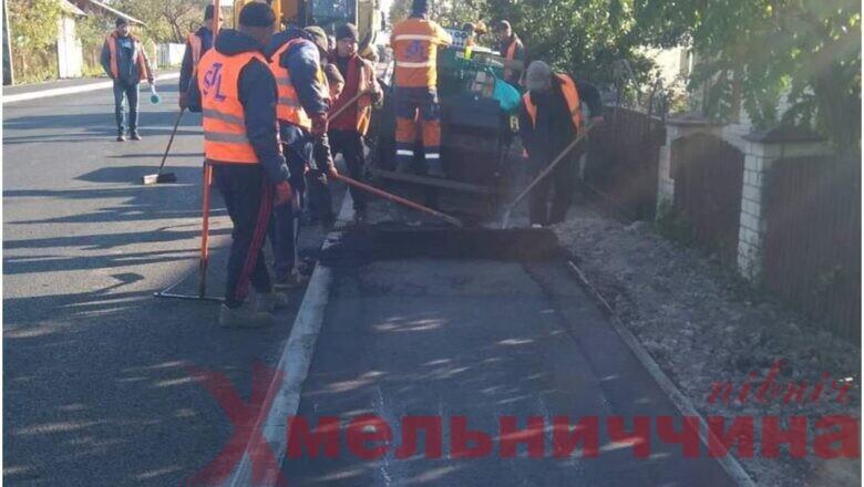 Підсумки та плани: коли завершиться ремонт автотраси поблизу Славути