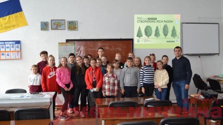У Національному природному парку «Мале Полісся» стартувала акція «Створюємо ліси разом»