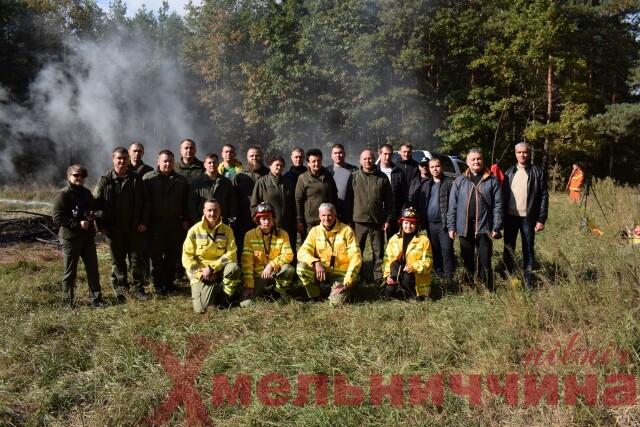 """Запобігти пожежі – врятувати природу: славутські лісівники завершили """"Лісопожежну школу НУБІП – 2021"""""""
