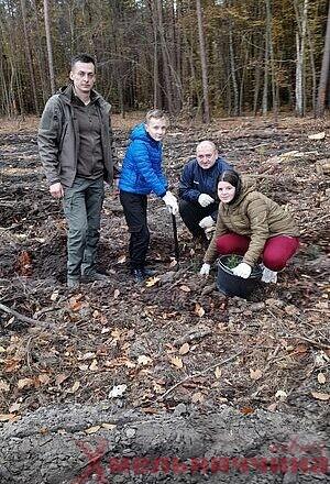 У Славутському лісництві триває акція «Створимо ліси разом»